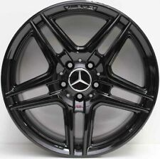 18 inch Genuine Mercedes Benz AMG C-Class  2013 Model alloy Wheels in black