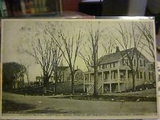 "Woodbury, CT Postcard. ""Central Hotel and Main Street"". used/postage 1908"