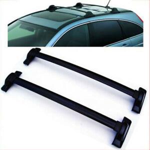 For 2007-2011 Honda CRV EX LX EX-L Black Roof Rack Cross Bar Luggage Carrier Bar
