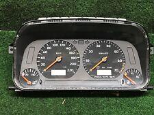 VW Golf 3 + Cabrio Tacho mit MFA Kombiinstrument BLAU beleuchtet 1E0919880E