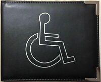 Disabled Badge Holder Hologram Safe Parking Permit Display Cover Wallet