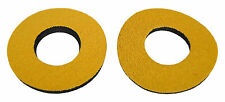 Flite old school BMX bicycle grip foam donuts - GOLD *MADE IN USA*