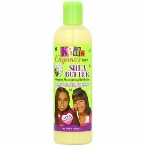Kids Organics Shea Butter Detangling Moisturizing Hair Lotion