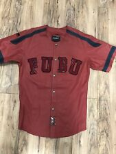 Fubu  Red Leather Jersey