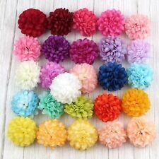 "20/30P 2"" Fake Hydrangea Daisy Artificial Silk Flowers Heads DIY Craft Supplies"