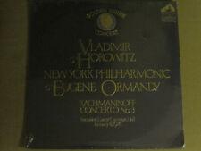 RACHMANINOFF HOROWITZ ORMANDY GOLDEN JUBILEE CONCERT 1978 LP CRL1-2633 SEALED!