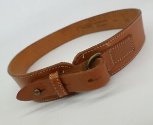 Georgetown Leather Design 26 28 English Saddle Hide Brown Made in England 1441