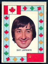 1972-73 OPC TEAM CANADA GUY LAPOINTE VS RUSSIA EX-NM SERIES MONTREAL CANADIENS
