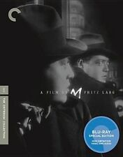 M Blu-ray Fritz Lang's 1931 Peter Lorre Criterion Collection