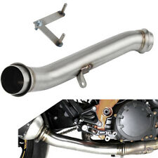 Mid Pipe Exhaust Down Pipe De-Cat For KTM 1290 Super Duke R 2014-2019 STAINLESS