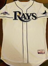 Tampa Bay Rays ALDS GAME USED Playoff JERSEY Jesse Crain Baseball MLB Authentic