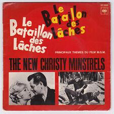 EP 45 TOURS THE NEW CHRISTY MINSTRELS BO du film LE BATAILLON DES LACHES