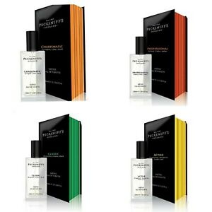 Pecksniffs Mens 100ml EDT Classic, Charismatic, Active, Professional in gift box
