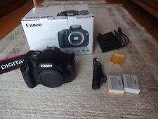 Canon EOS 600D 18.0 MP Digital SLR cámara Canon Extras originales 8186 veces