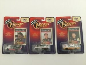 NASCAR Darrell Waltrip Winners Circle 25th Anniversary Collection Set of 3 Cars