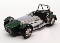 Vitesse 1/43 Scale Model Car 27551 - Caterham Super 7 - Green/Silver