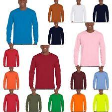 Gildan Ultra Cotton Longsleeve Langarm T-Shirt Langärmlig Long Sleeve