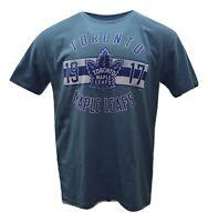 Toronto Maple Leafs NHL Hockey Team Est.1917 Logo Hockey T-Shirt XL & XXL