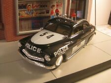 Built and Decaled 1949 Mercury Police Car