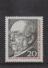 WEST GERMANY MNH STAMP DEUTSCHE BUNDESPOST 1965 BISMARCK SG 1388