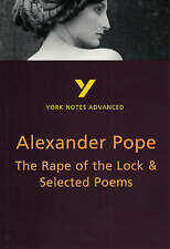 The Rape of the Lock and Selected Poems by Robin Sowerby (Paperback, 2000)