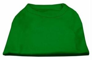 Mirage Pet Products 10-Inch Plain Shirts, Small, Emerald Green