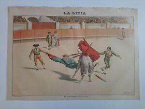 1893 La Lidia Revista Taurina Año XII Número 28 Un pase de tanteo Toros Corrida
