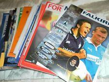 Everton Home Teams Testimonial Football Programmes