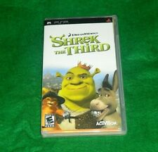 Shrek the Third (Sony Psp, 2007) Psp Video Game Complete! W/ Manual