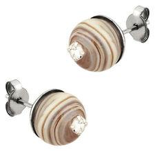 NEW Genuine Antica Murrina Murano Glass Amber Melange Jane Earrings OR386A10 £32
