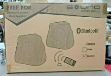 Outdoor Rock Speakers With Bluetooth - FREE Rok - Canyon Sandstone (B23)
