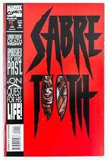 Sabretooth #1 (Aug 1993, Marvel) VF+