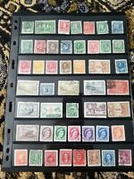 Canada Stamp Collection - Mostly Used - Many Classics - 2 Scans - L11