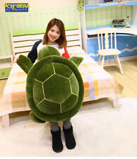 large turtle doll big fluffy pillow doll gift to men and women huge tutle 85cm