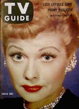TV Guide 1958 Lucille Ball I Love Lucy Desi Arnaz #276 Dale Robertson VG/EX COA