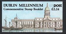 IRELAND 1988 DUBLIN MILLENNIUM £2.24 BOOKLET SB30