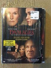 Damages: Season 2 Complete Good Condition 3 Disk Set