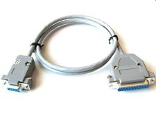 Commodore Amiga RGB Video Cable DB23 to DB9 Female 3 ft long for A500 A2000 more