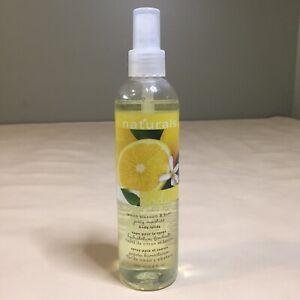 AVON Naturals LEMON BLOSSOM & BASIL Body Spray 8.4 fl oz