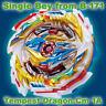 Takara Tomy Beyblade Superking・B-171・Tempest Dragon・Cm・1A・Single Full Bey・No Box