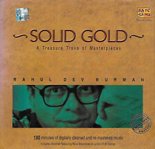 RAHUL DEV BURMAN - SOLID GOLD - NEW ORIGINAL BOLLYWOOD SOUND TRACK 2CDs SET