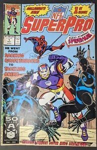 NFL Superpro #1 (Oct 1991, Marvel) NM+ Spider-man