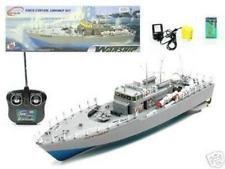 "20"" RC Boat Navy Battle Ship HT-2877 Color and Exact Model May Vary"