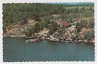 Noelville Ontario Canada 1960s Postcard Rainbow Camp