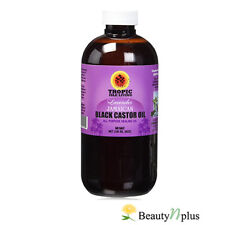 Tropic Isle Living LAVENDER Jamaican Black Castor Oil 8 oz