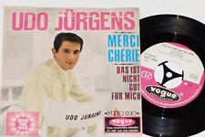 """UDO JÜRGENS -Merci Chérie / Das Ist Nicht Gut Für Mich- 7"""" 45 Grand Prix 1966"""