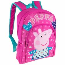 Peppa Pig Backpack | Girls Peppa Pig Rucksack | Kids Peppa Pig Bag