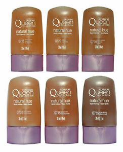 CoverGirl Queen Collection Natural Hue Liquid Makeup Foundation 4 Pack YouChoose