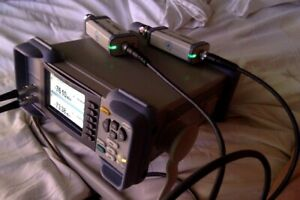Rohde Schwarz NRP2 power meter + 2 NRP8S sensors with cables