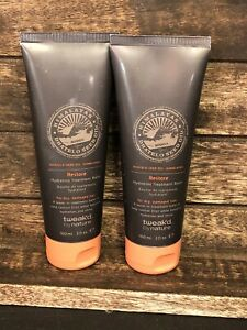 2 NEW SEALED Tweak'd by Nature Himalayas Dhatelo Restore Hydrating Balm 3oz each